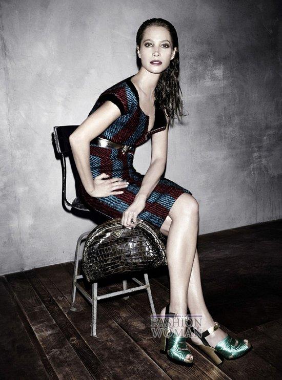 Осенне-зимняя рекламная кампания Prada  фото №7