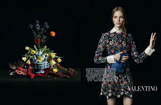 Осенне-зимняя рекламная кампания Valentino фото №11