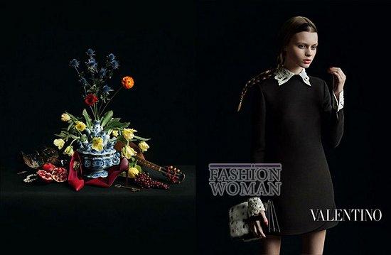 Осенне-зимняя рекламная кампания Valentino фото №12