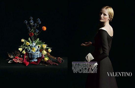 Осенне-зимняя рекламная кампания Valentino фото №3