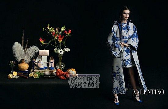 Осенне-зимняя рекламная кампания Valentino фото №4