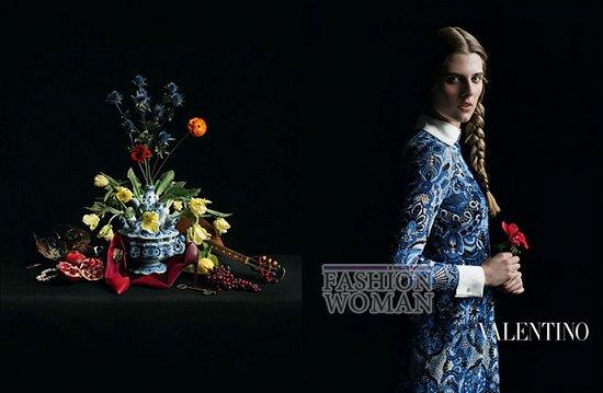Осенне-зимняя рекламная кампания Valentino фото №5