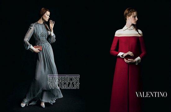 Осенне-зимняя рекламная кампания Valentino фото №6
