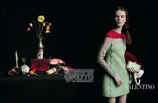 Осенне-зимняя рекламная кампания Valentino фото №7