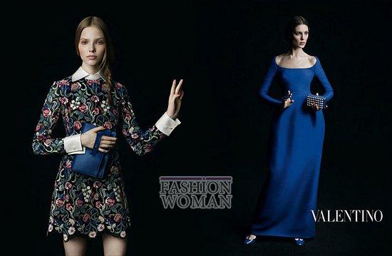 Осенне-зимняя рекламная кампания Valentino фото №8