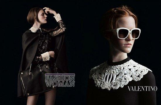 Осенне-зимняя рекламная кампания Valentino фото №9