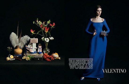 Осенне-зимняя рекламная кампания Valentino фото №10