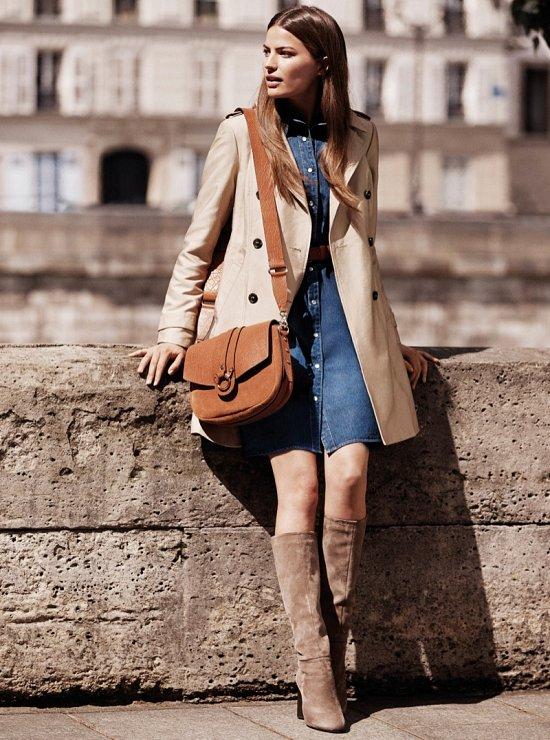 женская мода осень 2015