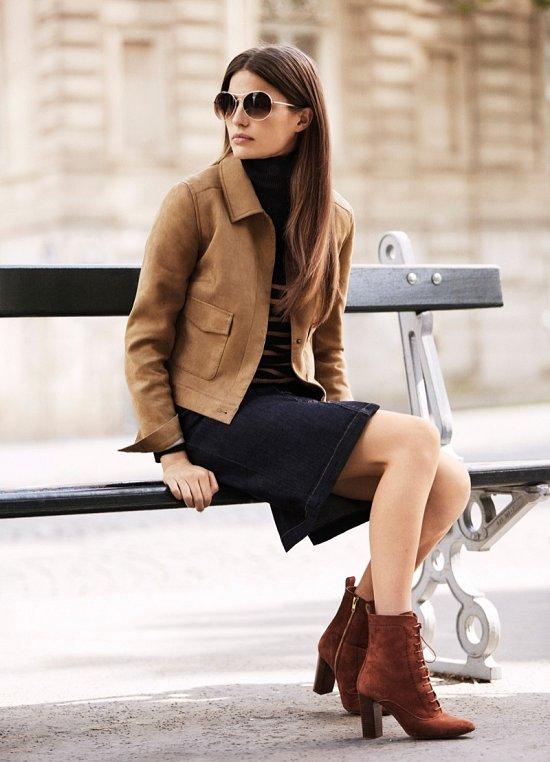 Осенний лукбук женской одежды Next  фото №10
