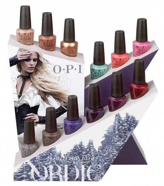 Осенняя коллекция лаков для ногтей OPI Nordic