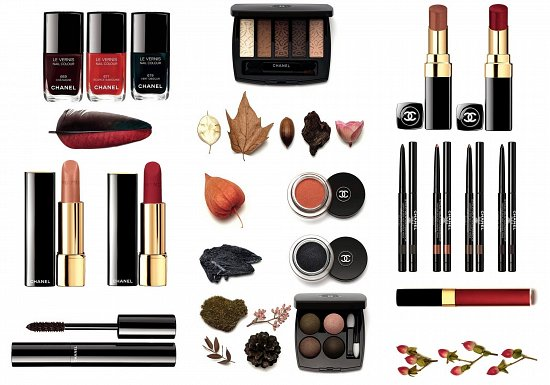 Chanel 'Les Automnales' Makeup Collection Fall 2015