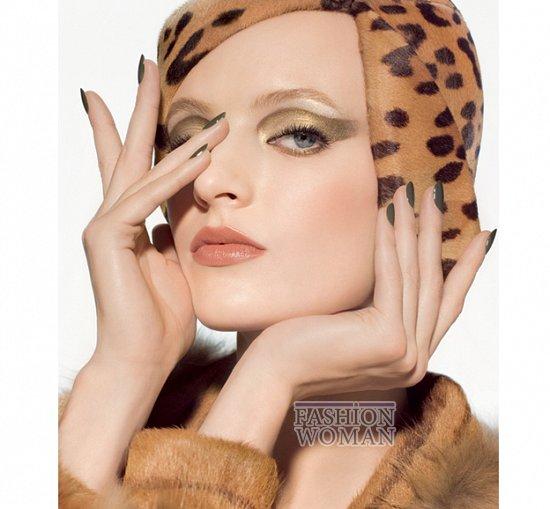 Осенняя коллекция макияжа Dior Golden Jungle фото №12