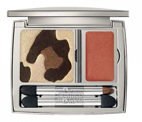 Осенняя коллекция макияжа Dior Golden Jungle фото №2