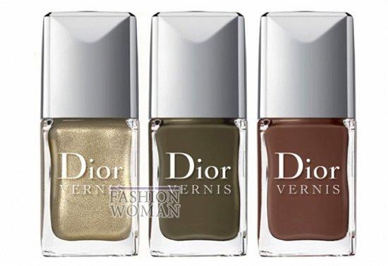 Осенняя коллекция макияжа Dior Golden Jungle фото №9
