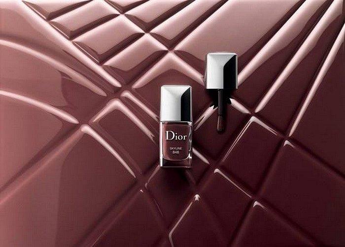 Осенняя коллекция макияжа Dior Skyline  фото №5