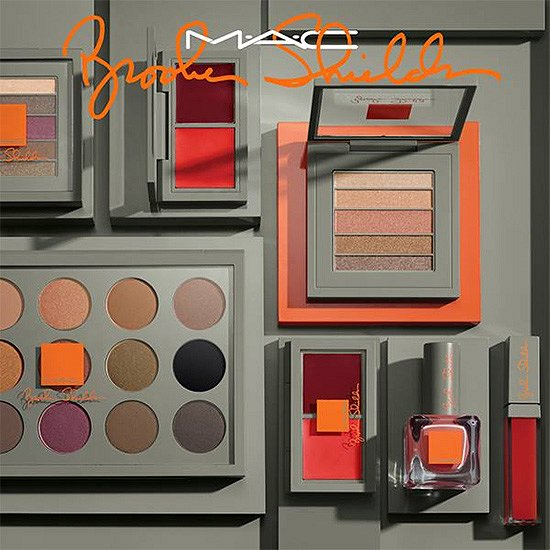 Осенняя коллекция макияжа MAC Brooke Shields