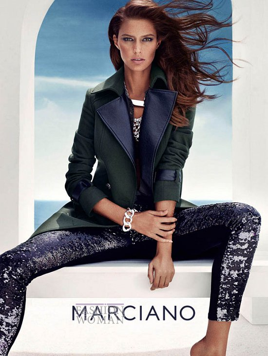 Осенняя рекламная кампания Guess by Marciano