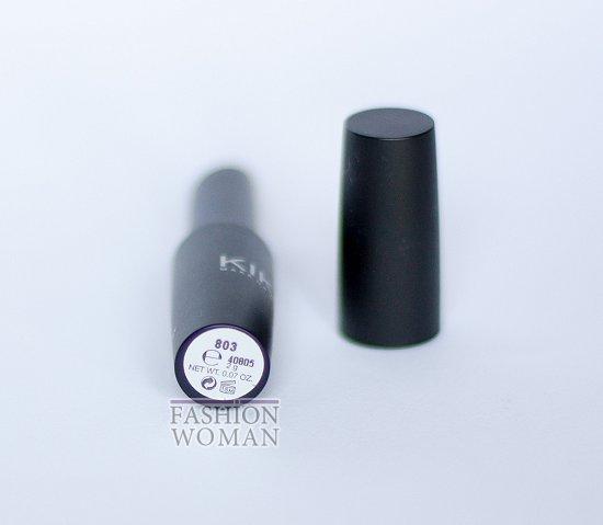Отзыв: губная помада Kiko Ultra Glossy Stylo SPF 15 №803 фото №1