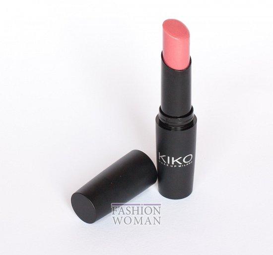 губная помада Kiko Ultra Glossy Stylo SPF 15 №803