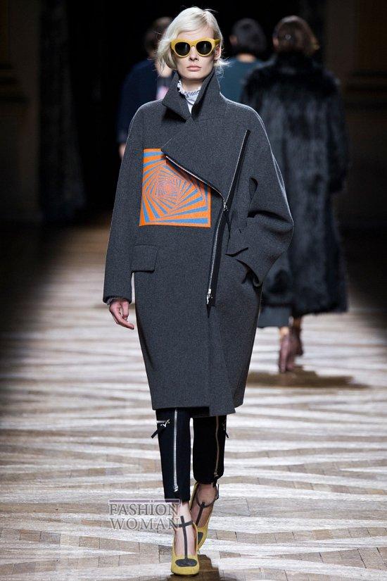 модное пальто осень 2014 фото