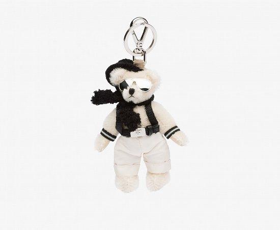 Праздничная коллекция аксессуаров Prada Bear Charms for Holiday фото №4