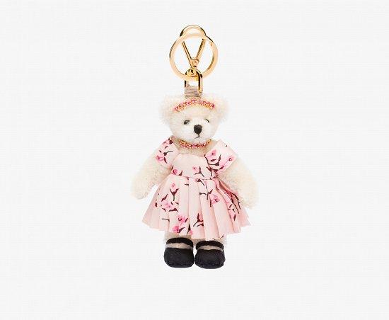 Праздничная коллекция аксессуаров Prada Bear Charms for Holiday фото №5