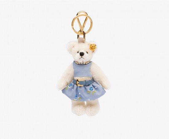 Праздничная коллекция аксессуаров Prada Bear Charms for Holiday фото №6