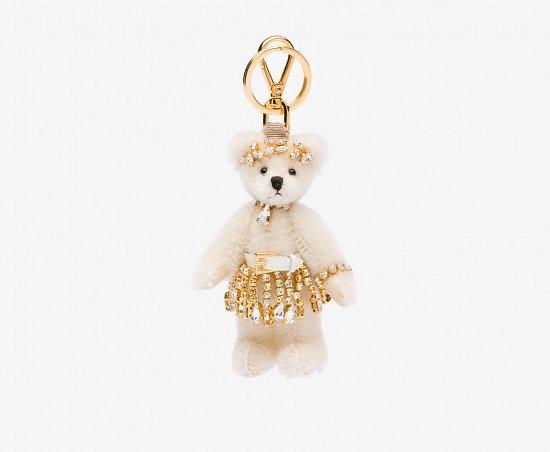 Праздничная коллекция аксессуаров Prada Bear Charms for Holiday фото №7