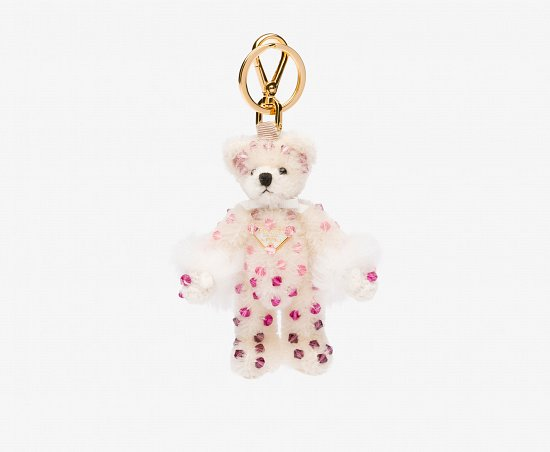 Праздничная коллекция аксессуаров Prada Bear Charms for Holiday фото №8