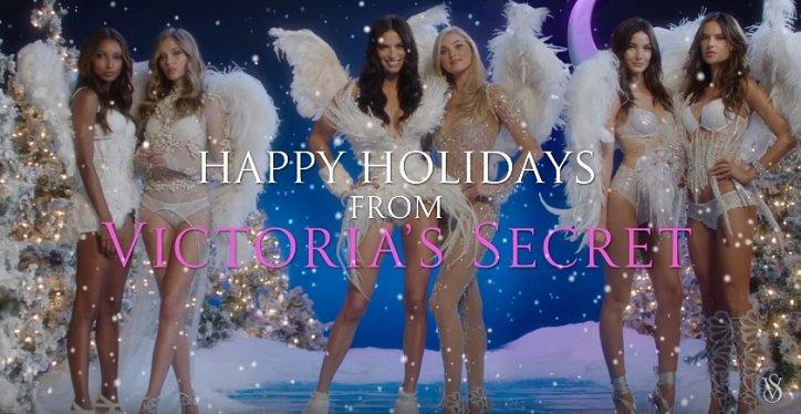 "Праздничное видео от ""Ангелов"" Victoria's Secret фото №3"