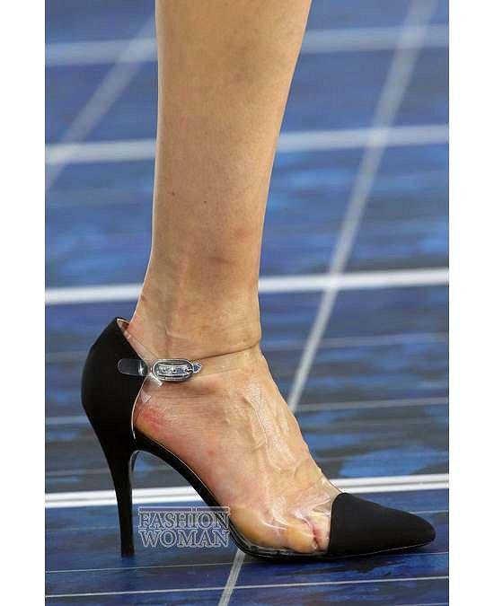 Прозрачные аксессуары - модный тренд лета фото №25