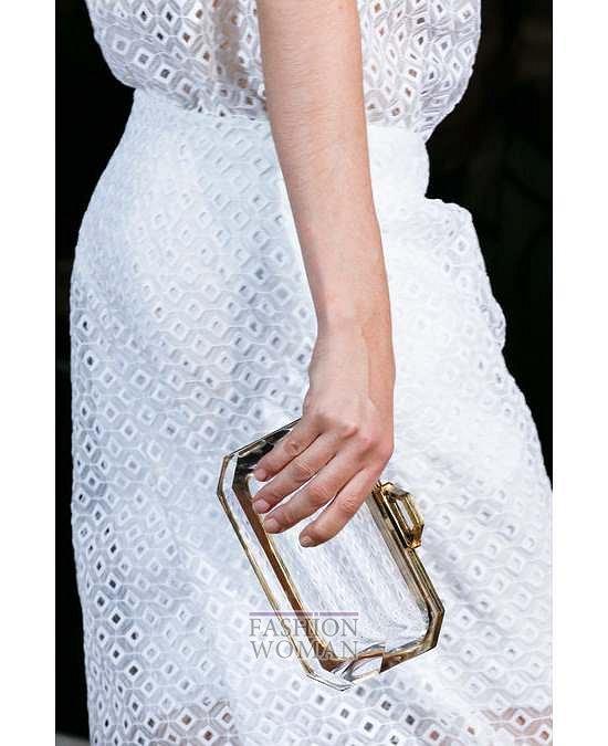 Прозрачные аксессуары - модный тренд лета фото №29