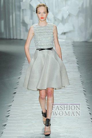 Модная летняя юбка 2012