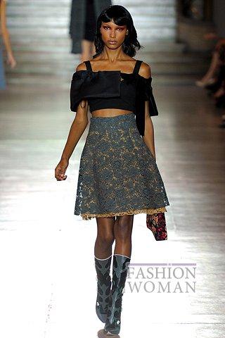 Модная юбка от Miu Miu
