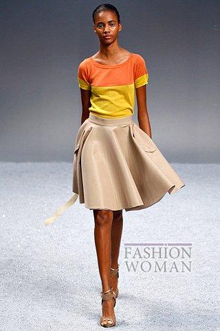 Модная юбка весна 2012