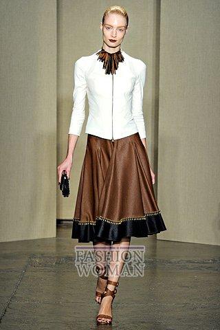 Модная юбка весна-лето 2012