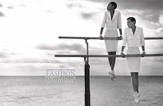 Рекламная кампания Chanel весна 2012 фото №10