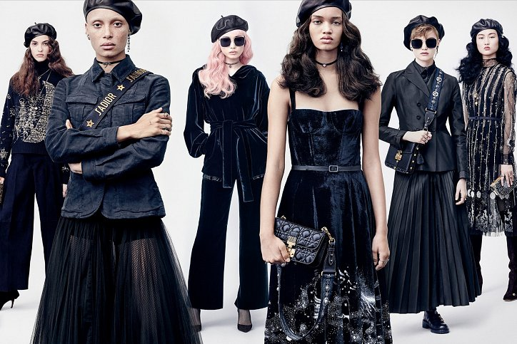 Рекламная кампания Dior осень-зима 2017-2018 фото №2