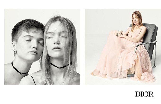 Рекламная кампания Dior весна-лето 2017 фото №3