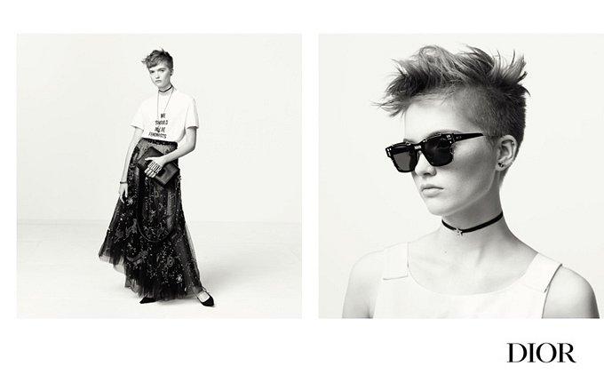 Рекламная кампания Dior весна-лето 2017 фото №4