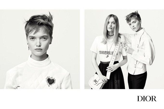 Рекламная кампания Dior весна-лето 2017 фото №5