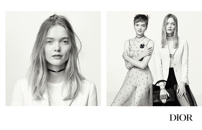 Рекламная кампания Dior весна-лето 2017 фото №6