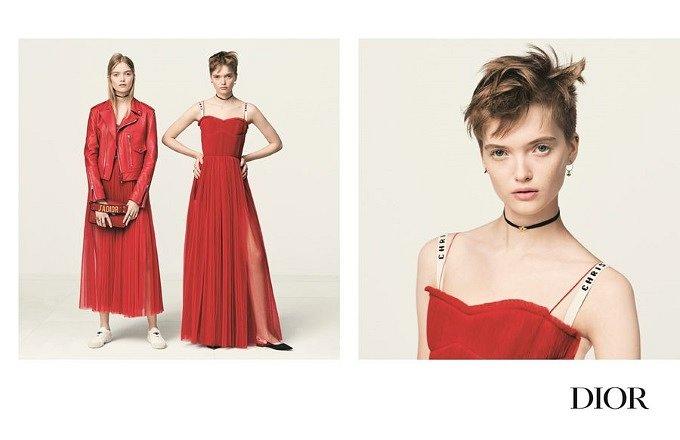 Рекламная кампания Dior весна-лето 2017 фото №8