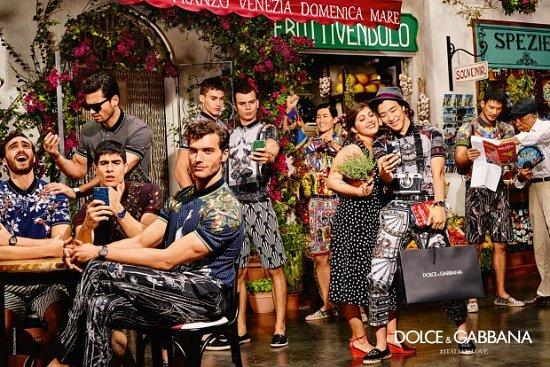 Рекламная кампания Dolce  фото №5