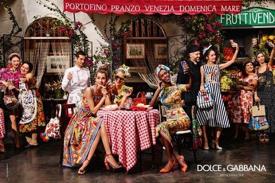 Рекламная кампания Dolce  фото №8