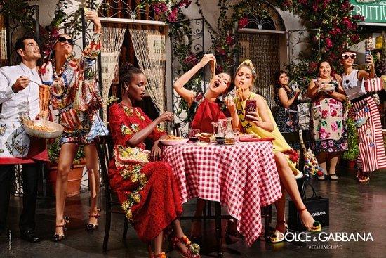Рекламная кампания Dolce & Gabbana весна-лето 2016