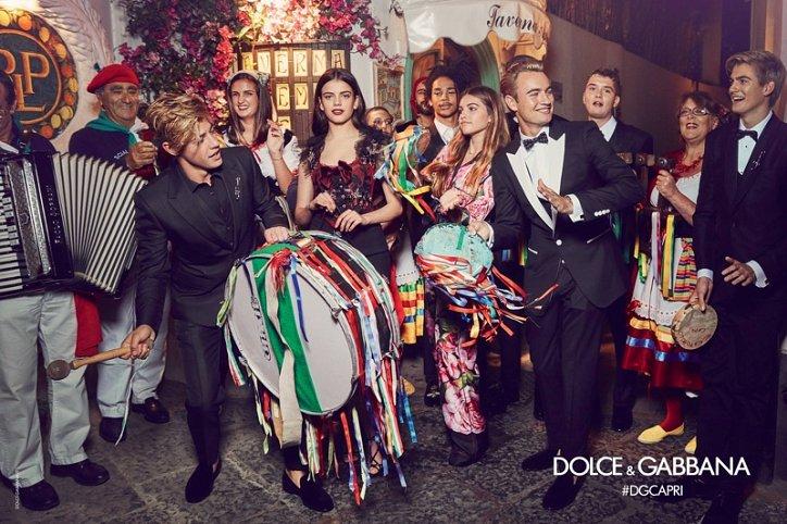 Рекламная кампания Dolce  фото №2