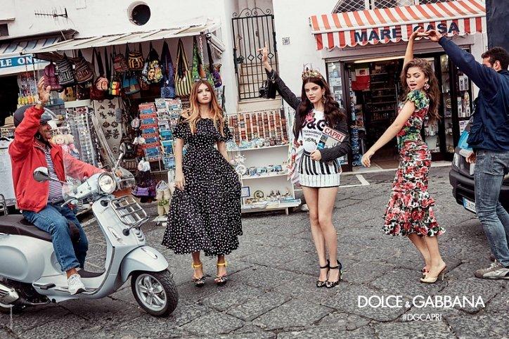Рекламная кампания Dolce & Gabbana весна-лето 2017