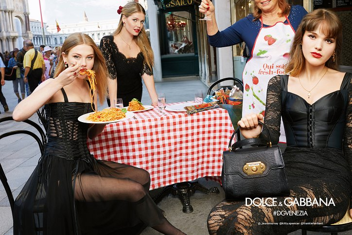 Рекламная кампания Dolce  фото №4
