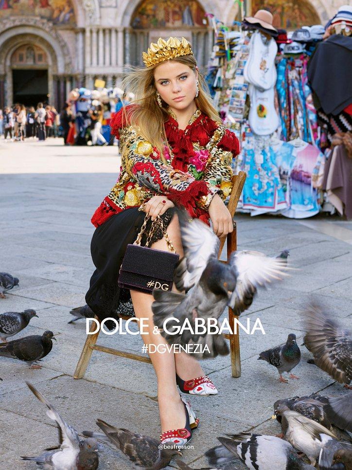 Рекламная кампания Dolce  фото №14
